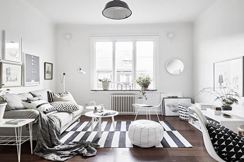 Дизайн квартиры в скандинавском стиле - Особенности