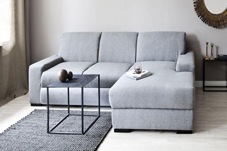 Стиль минимализм в интерьере - Мебель
