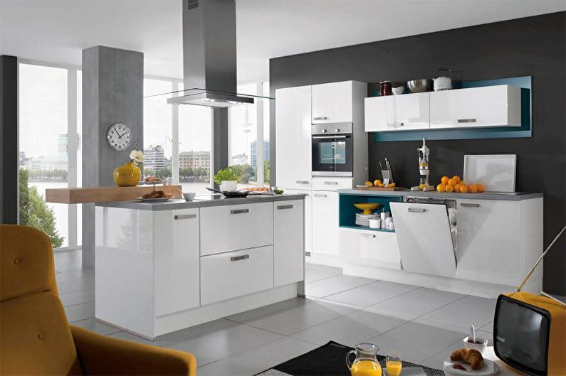 Сочетание поверхностей - Как выбрать цвет для кухни