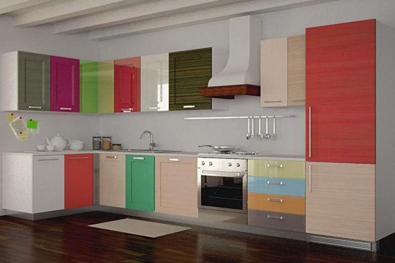 Семь цветов радуги - Как выбрать цвет для кухни