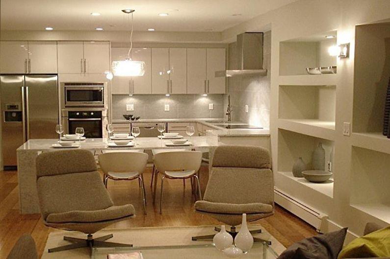 Домашняя атмосфера - Как выбрать цвет для кухни