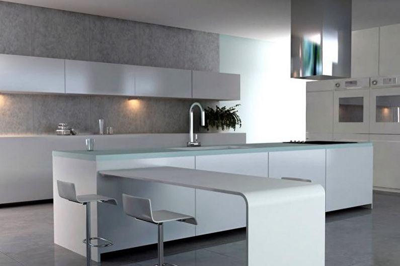 Дизайн серой кухни - Особенности