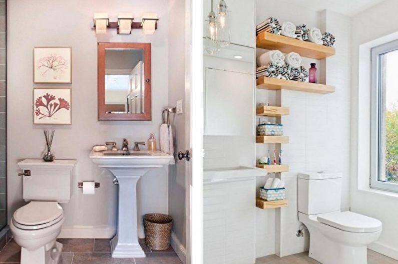 маленького фото туалета декора