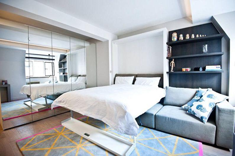Гостиная - Дизайн двухкомнатной квартиры
