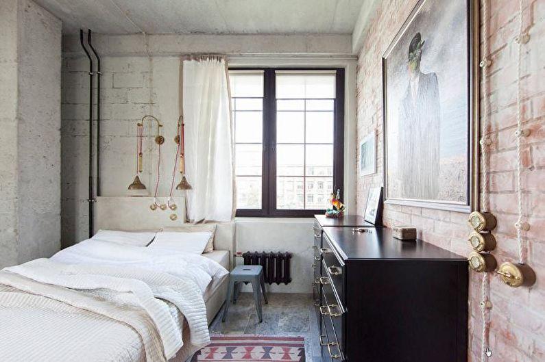 Спальня - Дизайн двухкомнатной квартиры