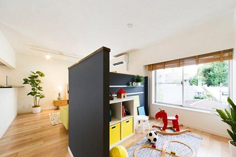 Детский уголок - Дизайн двухкомнатной квартиры
