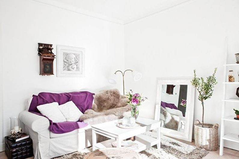 Дизайн малогабаритной квартиры - Цвет