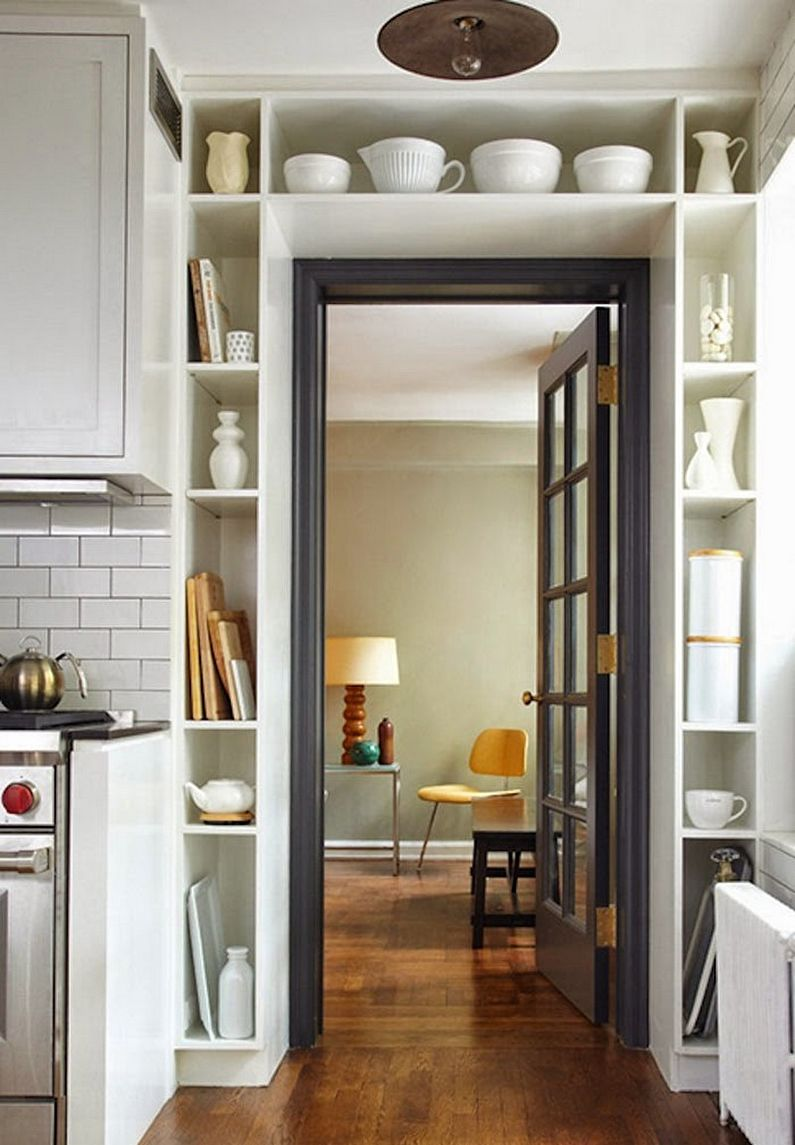 Дизайн малогабаритной квартиры - Системы хранения