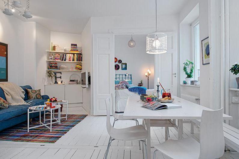 Малогабаритная квартира в скандинавском стиле - Дизайн интерьера