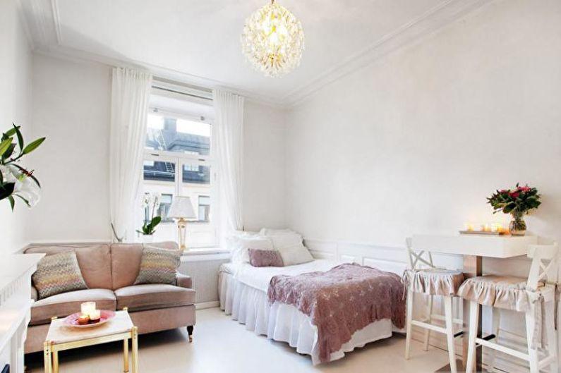 Малогабаритная квартира в стиле прованс - Дизайн интерьера