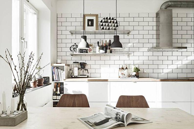 Дизайн малогабаритной квартиры - Отделка стен