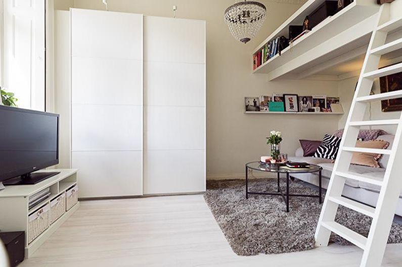 Дизайн интерьера малогабаритной квартиры - фото