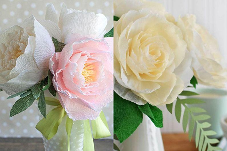 Пионы - Цветы из бумаги своими руками