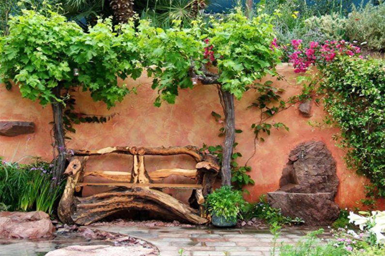 Кантри-стиль - Ландшафтный дизайн дачного участка