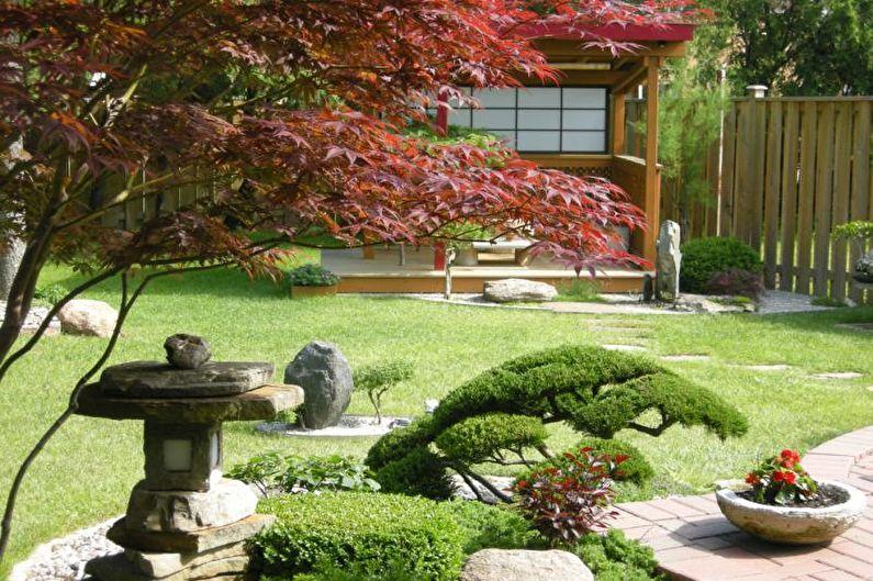 Японский стиль - Ландшафтный дизайн дачного участка
