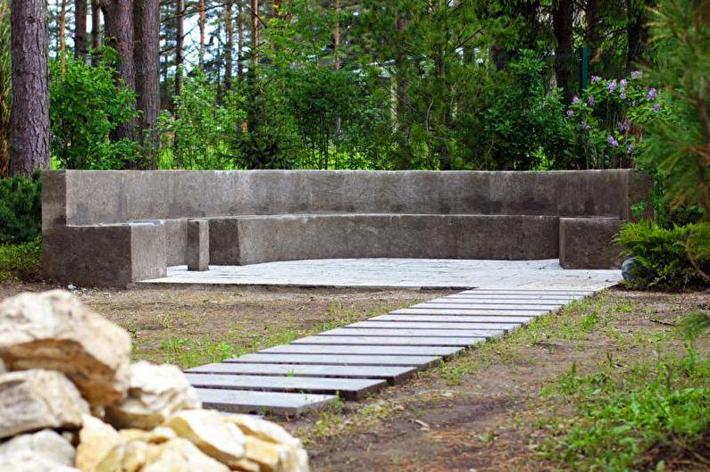 Минимализм - Ландшафтный дизайн дачного участка