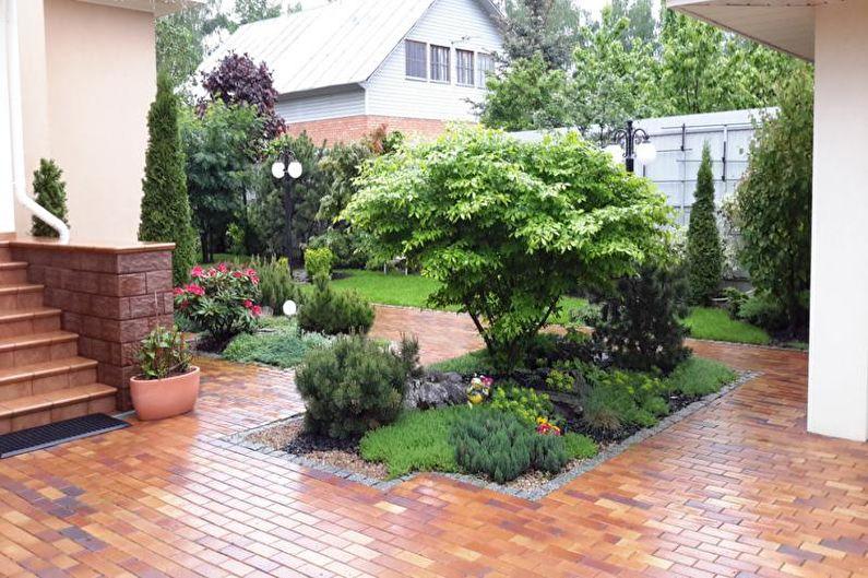 Ландшафтный дизайн дачного участка - Зеленые насаждения