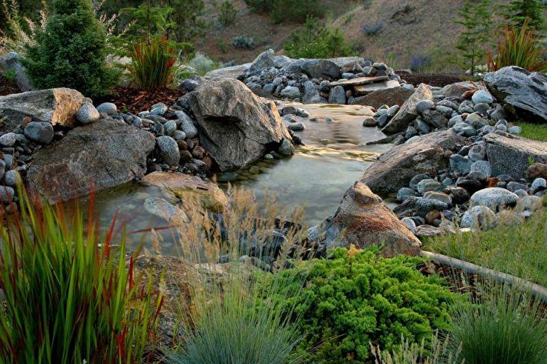 Ландшафтный дизайн дачного участка - Водоемы