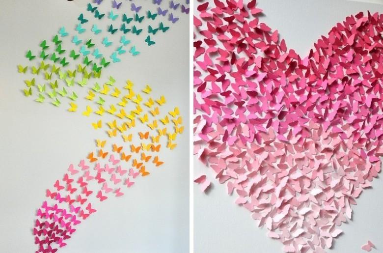Прелестные бабочки - Поделки из бумаги своими руками