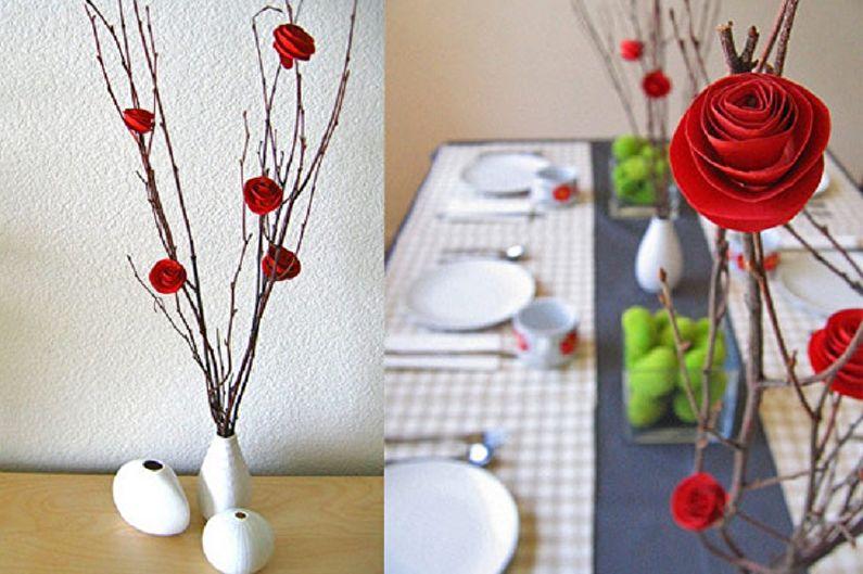 Бумажные цветы - Поделки из бумаги своими руками