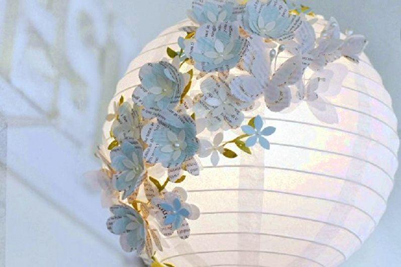 Оригинальные светильники - Поделки из бумаги своими руками