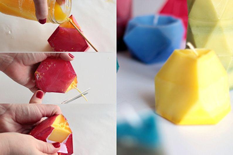 Формы для свечей - Декоративные свечи своими руками