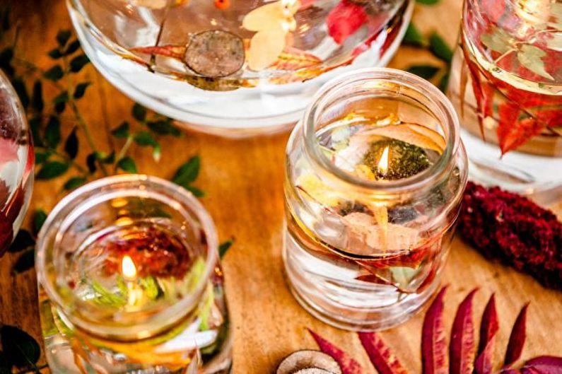 Прозрачные гелевые свечи - Декоративные свечи своими руками