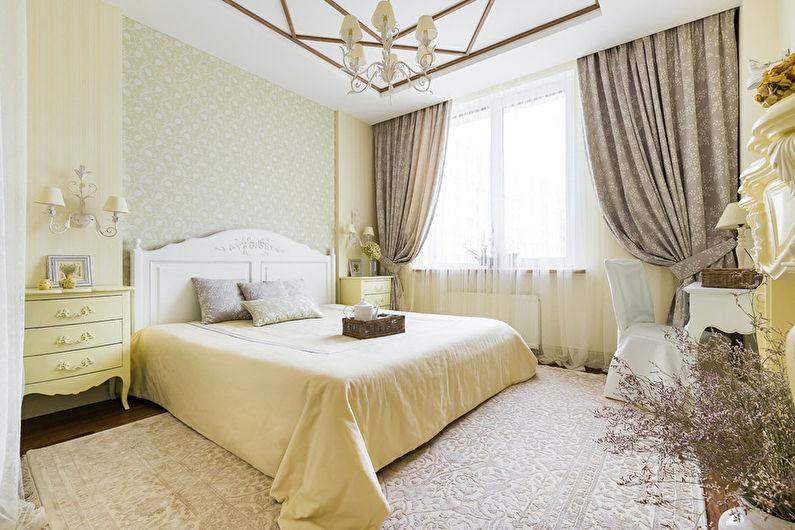 Спальня в стиле кантри - Дизайн интерьера фото