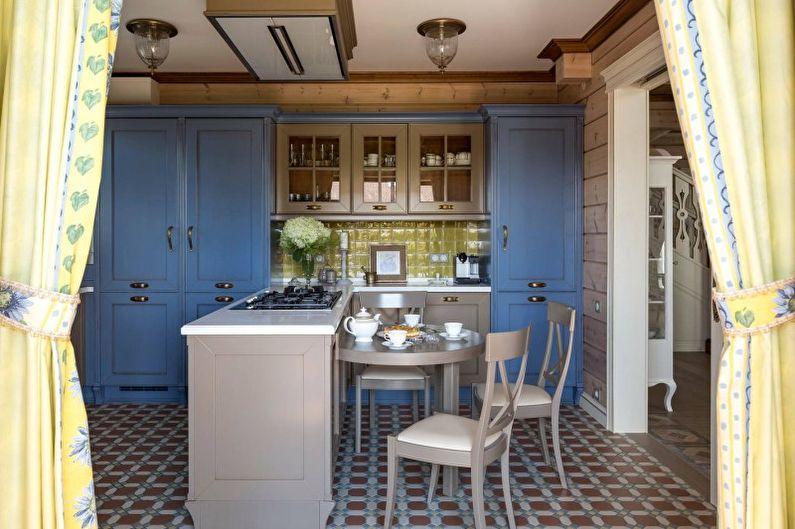 Кухня в стиле кантри - Дизайн интерьера фото