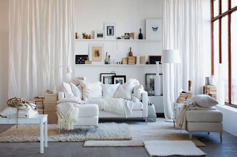Красивый интерьер маленькая квартира в скандинавском стиле