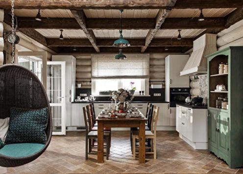 Дизайн кухни-столовой (95 фото)