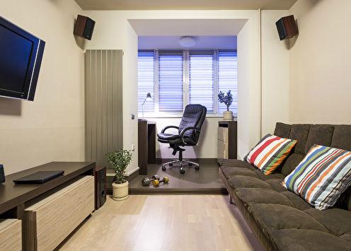 Спальня для молодого человека, 13 м2