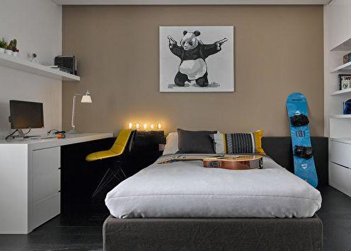 Дизайн комнаты для мальчика-подростка (70 фото)