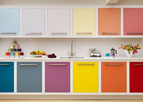 Как выбрать цвет для кухни: 20 советов
