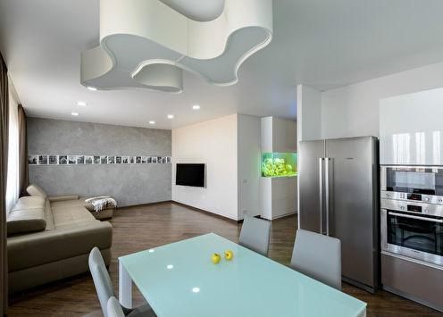 «Чистый минимализм»: Интерьер квартиры 126 м2