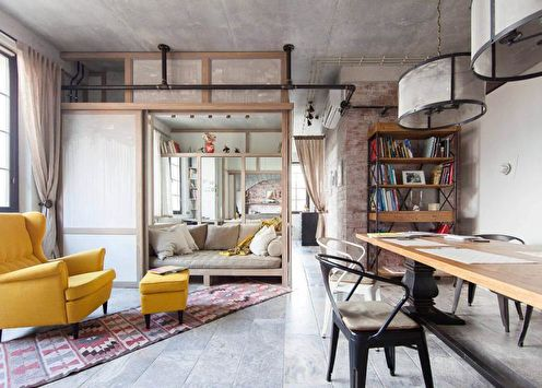 Дизайн двухкомнатной квартиры (70 фото)