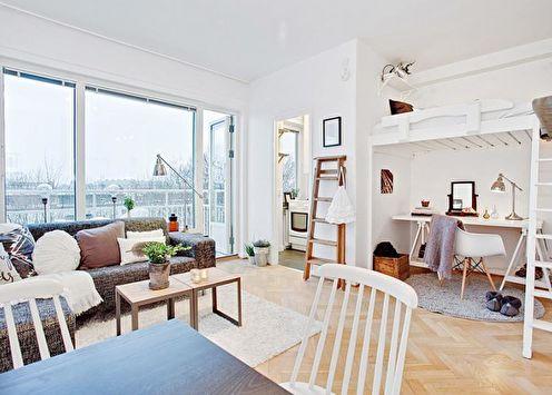 Дизайн малогабаритной квартиры (90 фото)