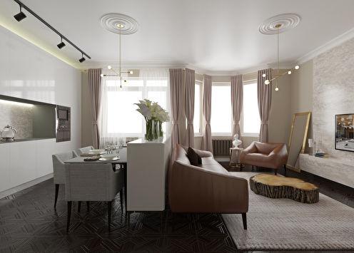 Квартира «Вертикали и горизонтали»