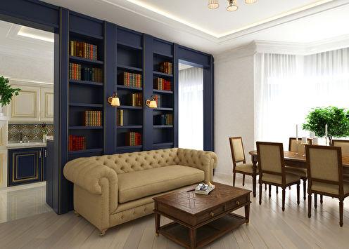Дизайн-проект квартиры «Современная строгость»