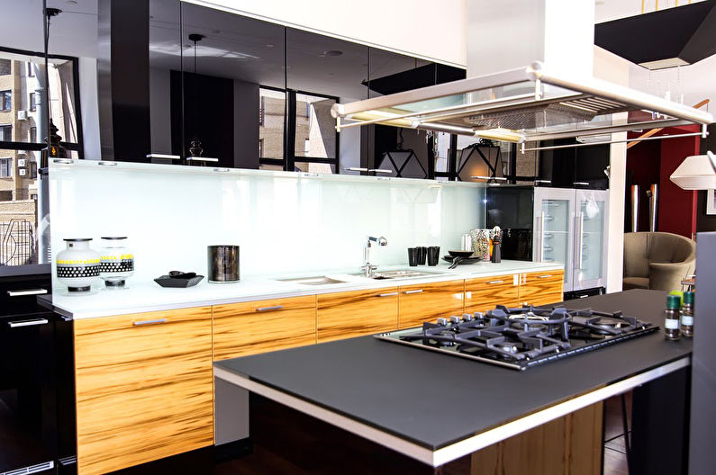 Дизайн кухни в стиле <strong>дизайн кухни классика коричневая</strong> модерн: 50 фото и идей
