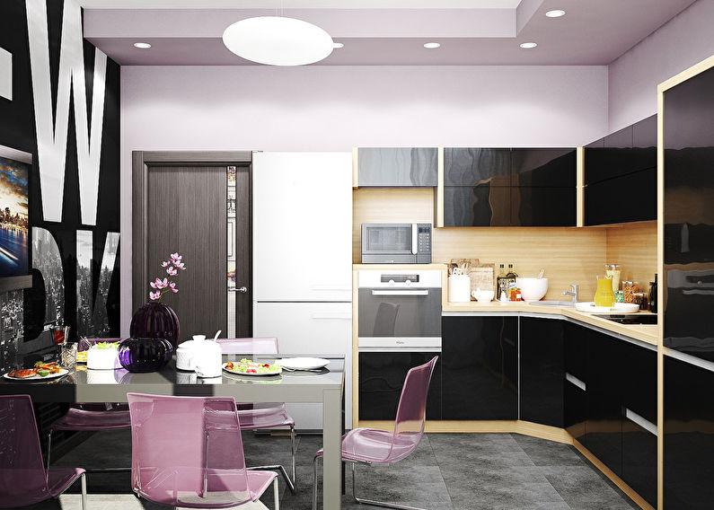 дизайн кухни 15 м кв фото