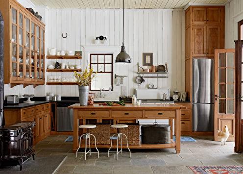 Дизайн кухни в стиле кантри (+55 фото)