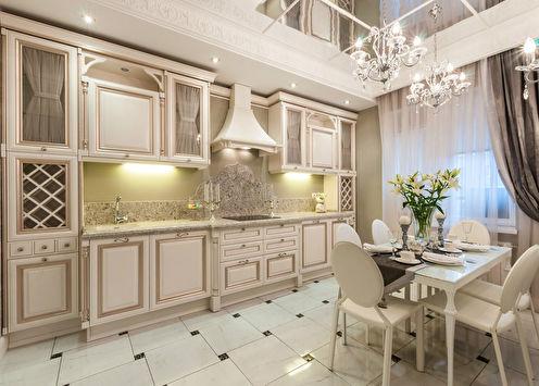 Интерьер кухни во французском стиле