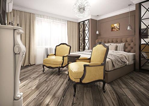 «Париж, Париж...»: Дизайн спальни