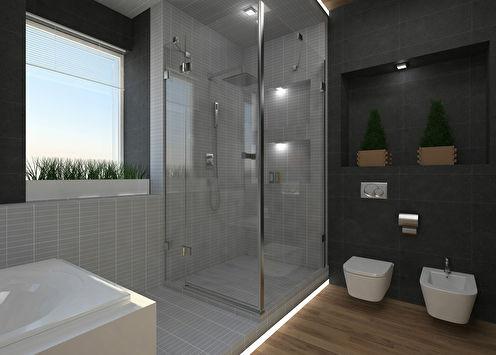 «Harmony»: Ванная в загородном доме