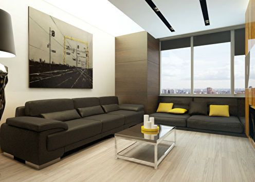 Дизайн квартиры 60 кв.м.
