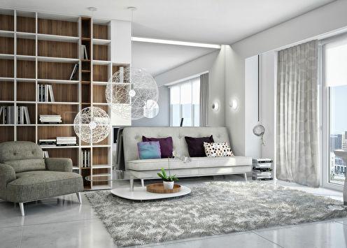 «Solo»: Квартира-студия 36 м2