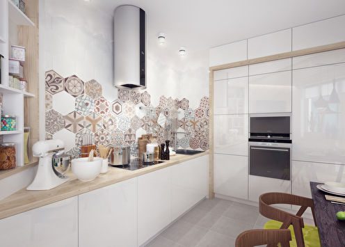 Кухня «Геометрия пространства»