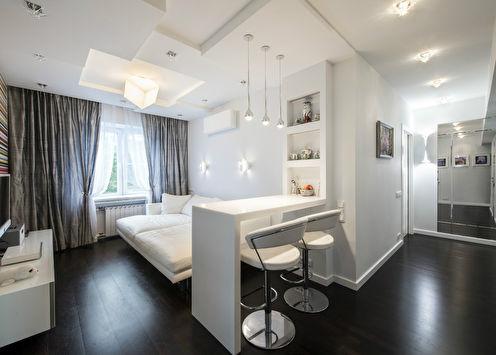 Квартира в центре Москвы, 56 м2