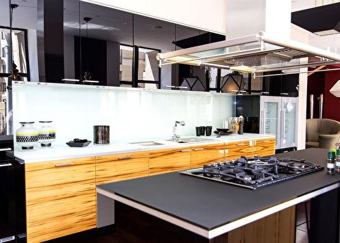Дизайн кухни в стиле модерн: 50 фото и идей